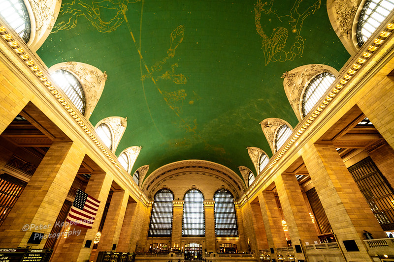 Grand Central Station and Ceiling