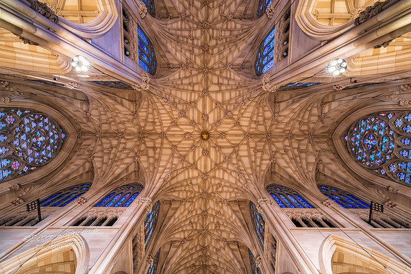 Ceiling, St. Patrick's Cathedral