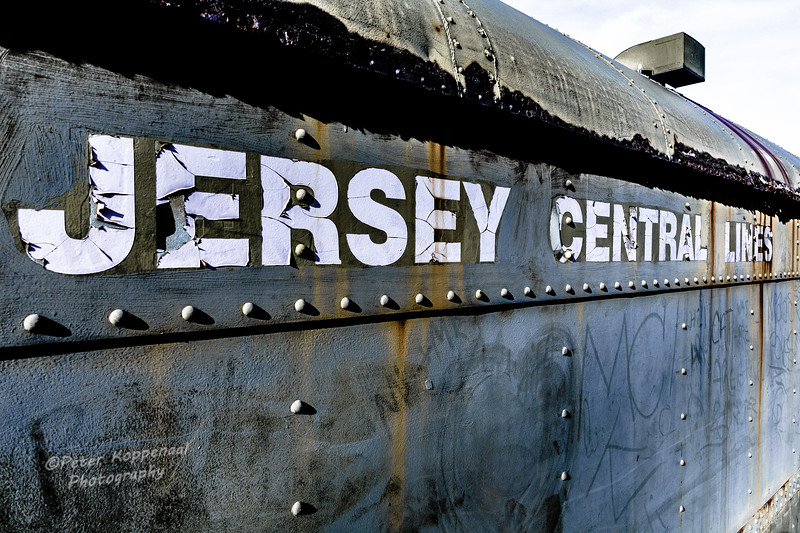 Jersey Central Train Car
