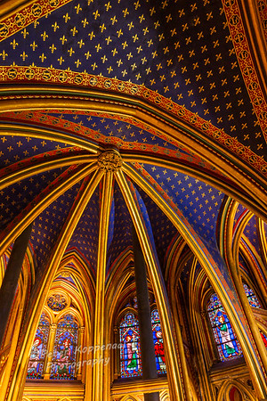 Ceiling Detail, St. Chapelle Cathedral