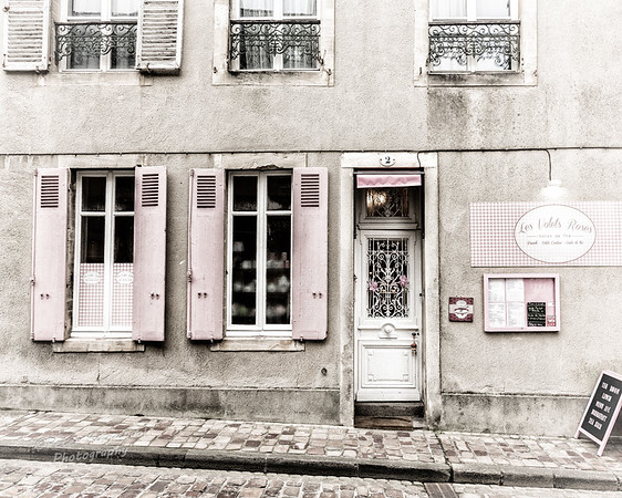 Pink Shutters, Normandy