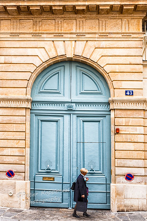 Woman and Door, Paris