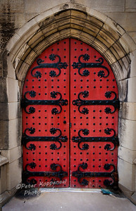Door, Heinz Memorial Chapel, Pittsburgh