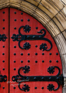 Door Detail, Heinz Memorial Chapel, Pittsburgh