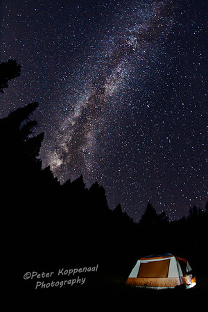 Rocky Mountain Milky Way