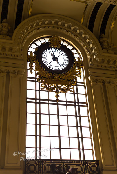 Clock, Hoboken Station