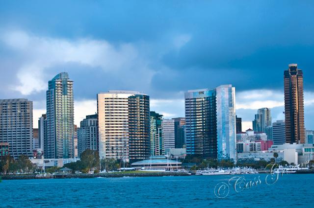 Morning Skyline San Diego USA