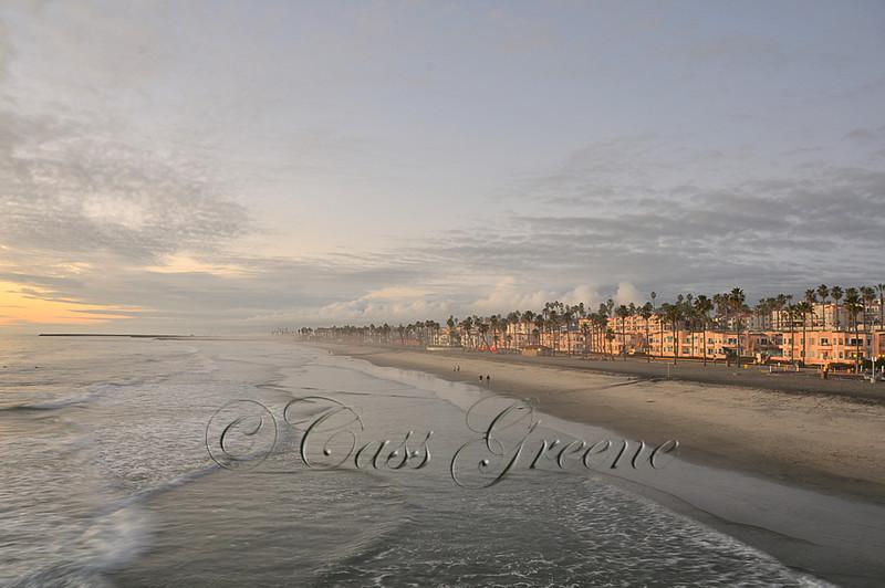 SunSet Oceanside CA USA