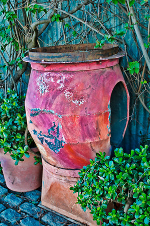 Old Metal Pot