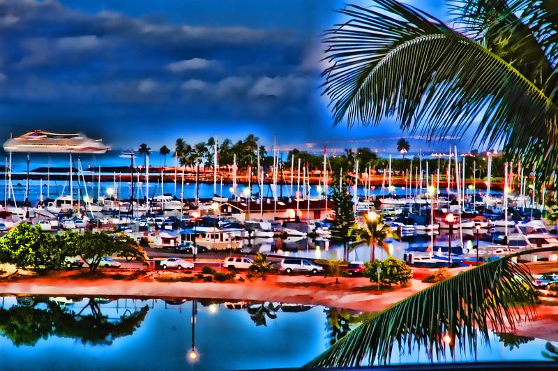 Cruise Ship Hawaii 2005.3.14