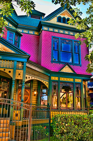Historic House DownTown San Diego South of Market.© 2011