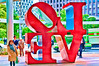Love Statue Tokyo Japan