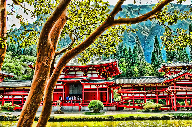 Hawaii Buddhist Temple 2005.3.14