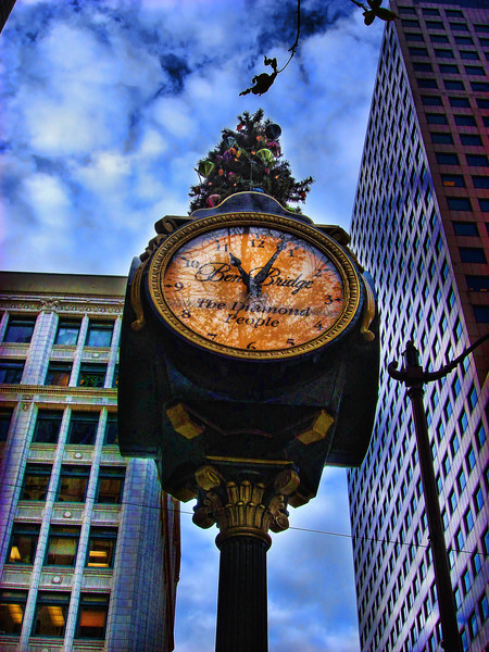 Seattle Clock   2007.12.7
