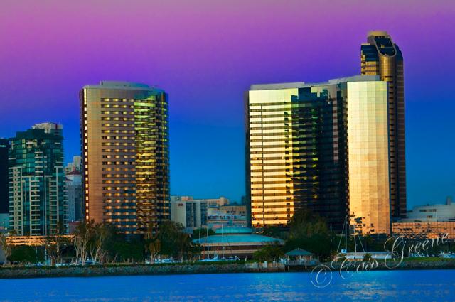 San Diego Sky Line  [2011.2.11]