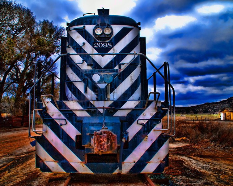 old Vintage railroad trains  [2008.2.2]