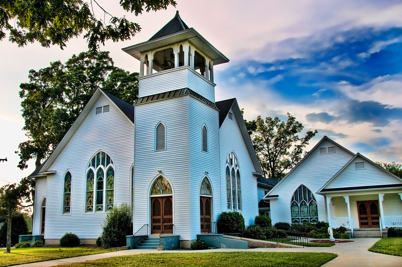 NC Country church  2010.06.15
