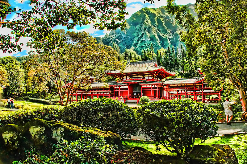 Hawaii Buddhist Temple 2005.3.14