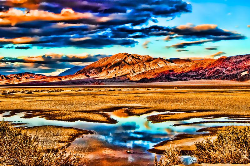 Death Valley Sun Set 2004.11.18