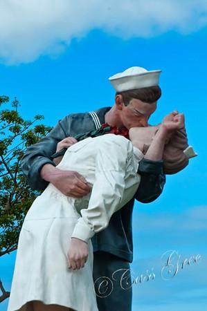 Kissing Sailor  San Diego CA USA