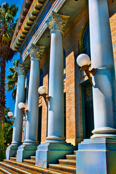 The majestic and famous historical landmark, The Abbey, (1910) on Fifth Avenue near Balboa Park ©2011