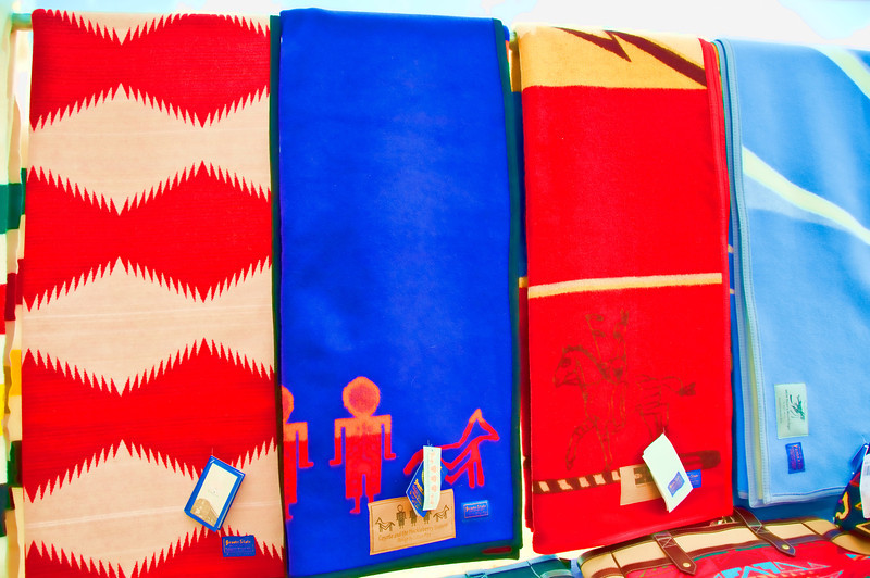 Indian hand made blankets