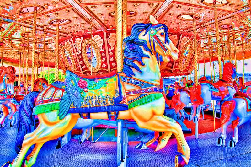 Musical Carousel at Del Mar Fair