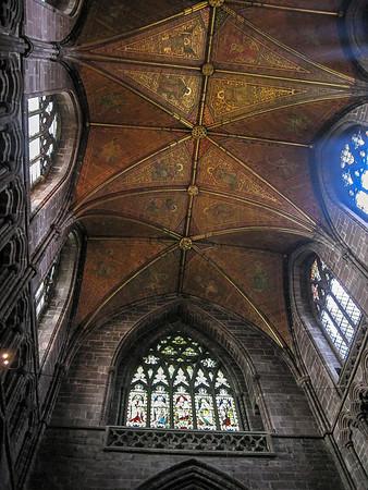 Fantastic ceiling.