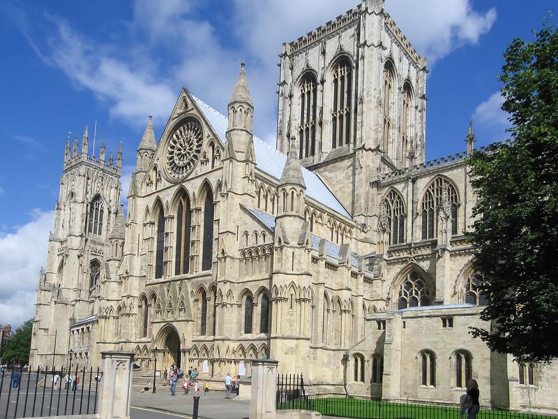 Massive York Minster.  (July 18)
