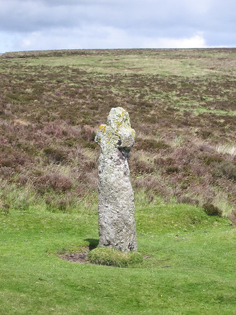 Bennett's Cross: 500 yr old conversion of a standing stone