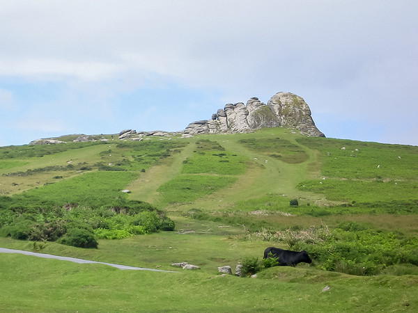 Monday, July 9: The Dartmoor.  This is Haytor.