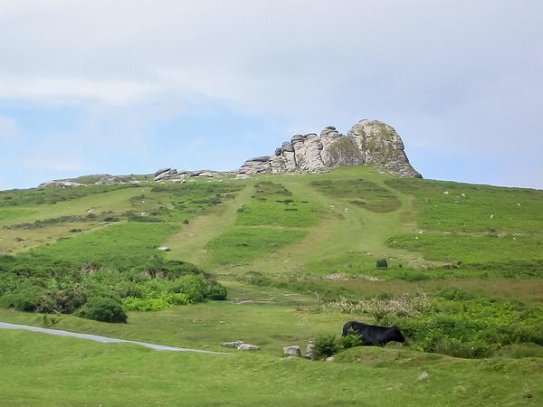Monday, July 9: The Dartmoor.  This is Haytor.