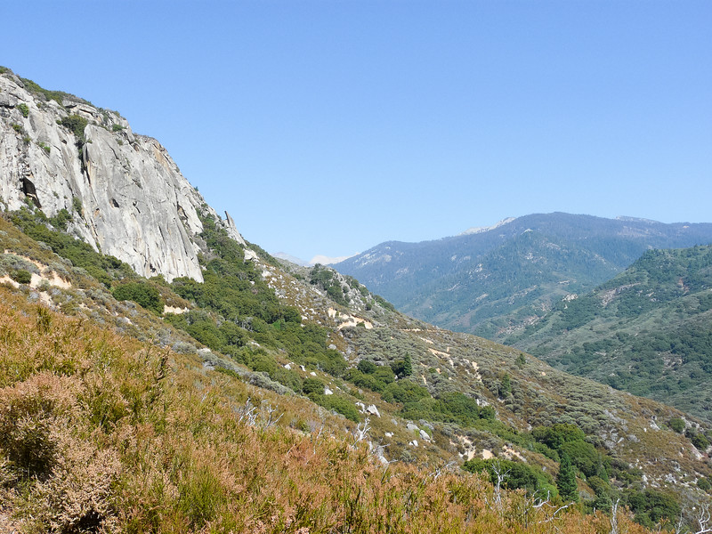 Next, down into the Kaweah Canyon on the Generals Highway and back up on the Mineral King Road.