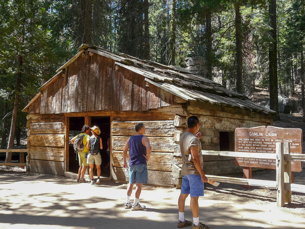 The Gamlin Cabin was pretty high-end as forest cabins go.