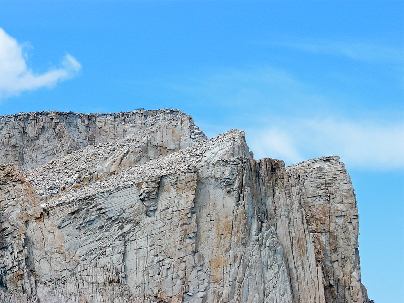 2:11 -- One last view of the Mt. Whitney summit and the building.