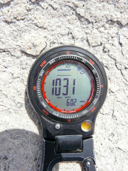 602 mb = 59% of standard sea level barometric pressure.
