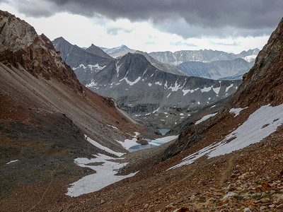 McGee Pass to Lake of the Lone Indian- August2009