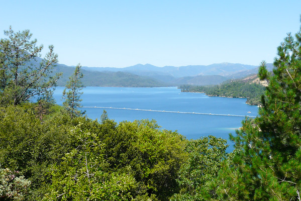 Thursday, July 2.  Driving Up: Whiskeytown Reservoir.