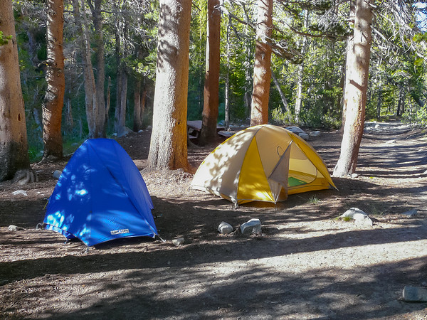 Thursday, August 25.  Mosquito Flat walk-in campground.