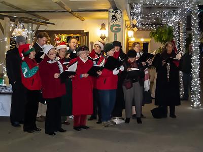 Oakland Symphony Chorus Outdoors - Christmas 2011