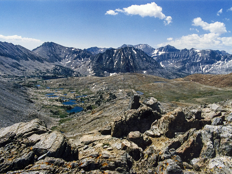 The same view, taken in July 1987.  It took me 24 years to get back!  Heavy duty deja vu up here today.