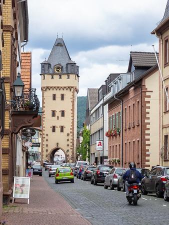 Our walking tour began near the east town gate (Würzburger Tor).