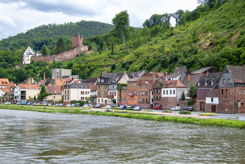 Miltenberg.  I'm going to climb that tower at left by the end of the day.  Miltenberg is the birthplace of composer J. Martin Kraus, who Haydn rated up there with Mozart.