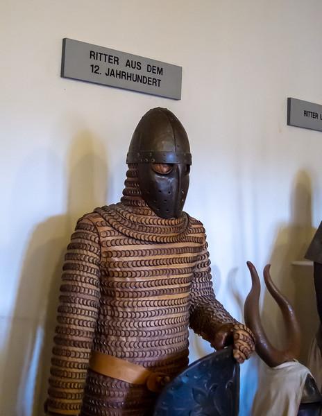 Displays of knights.