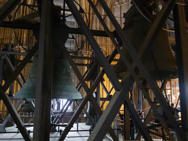 Die Glocken in the south tower of the Kölner Dom.