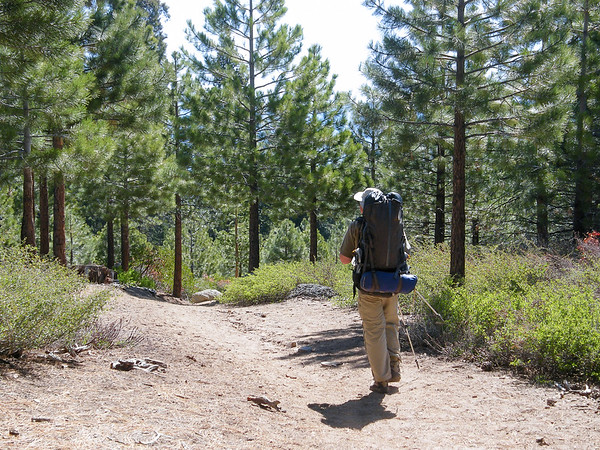 Me, as taken by Alex near the trailhead.