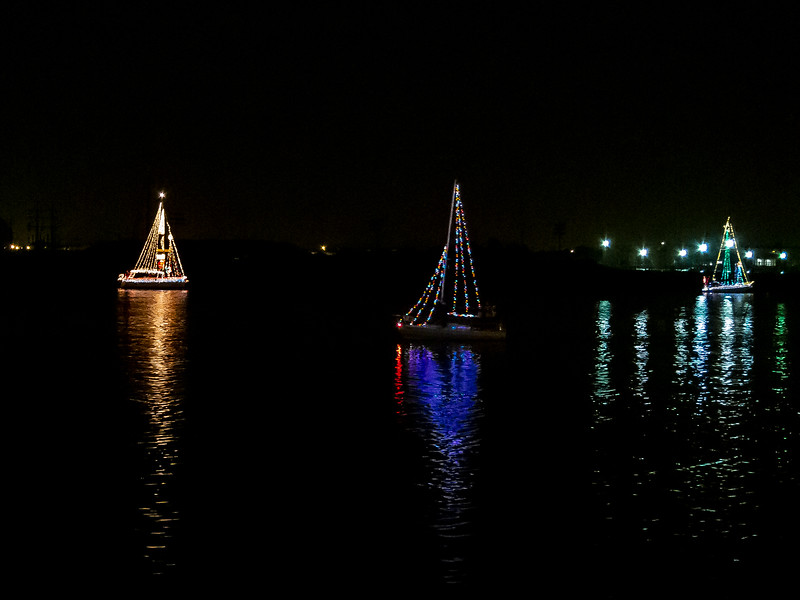 December 1 - JLS Parade of the Lighted Yachts.