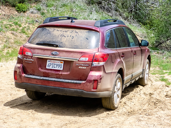 Tuesday, May 1.  I started with a long, rough, and dusty drive to China Camp on the Tassajara Road.