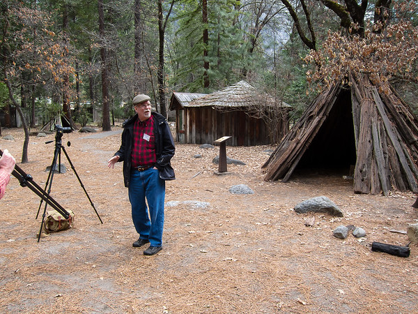 Saturday, March 31. Most of my morning Yosemite Conservancy meetings were indoors, but I took one hike, a camera walk.