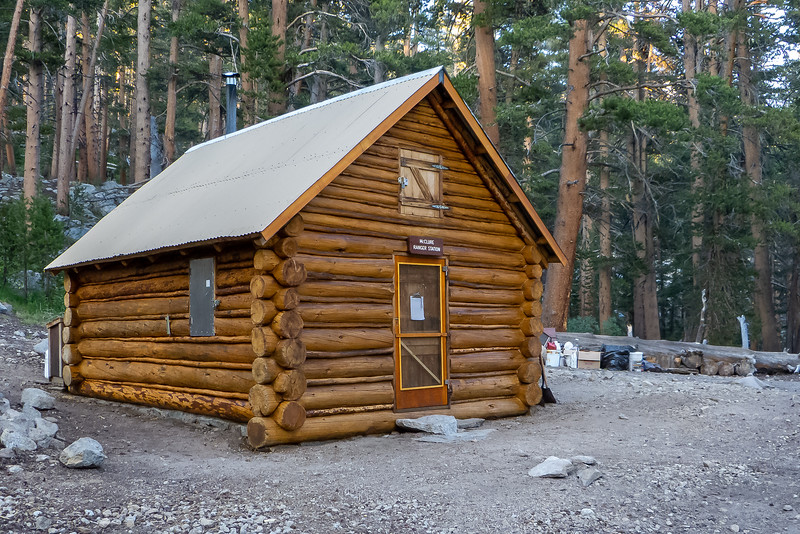 The McClure Ranger Station.  Little changed since my 2010 visit.
